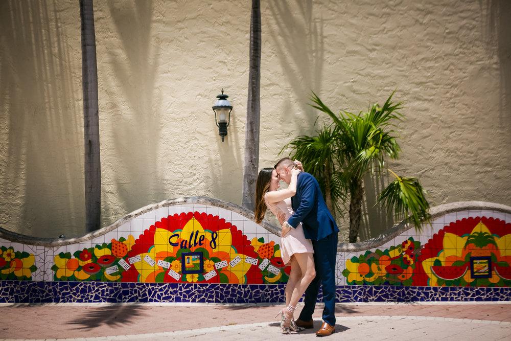 Miami Engagement Photographer - Little Havana Engagement Photos