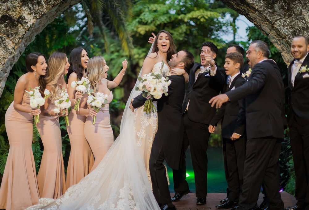 Secret Gardens of Miami Wedding| Miami Wedding Photographer | Dipp Photography