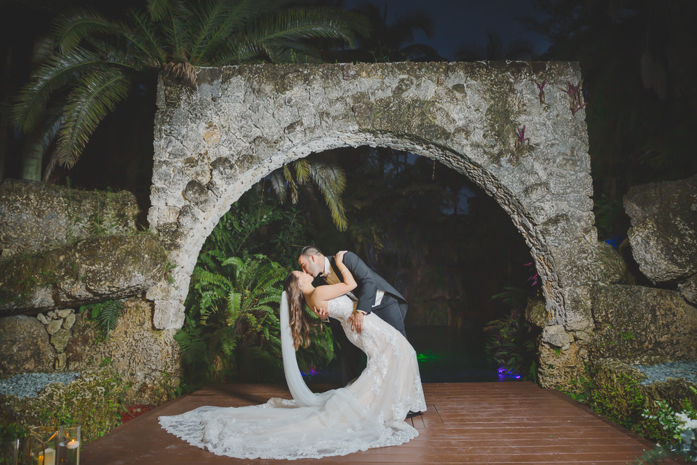 Secret Gardens of Miami Wedding - Miami Wedding Photographer - Dipp Photography
