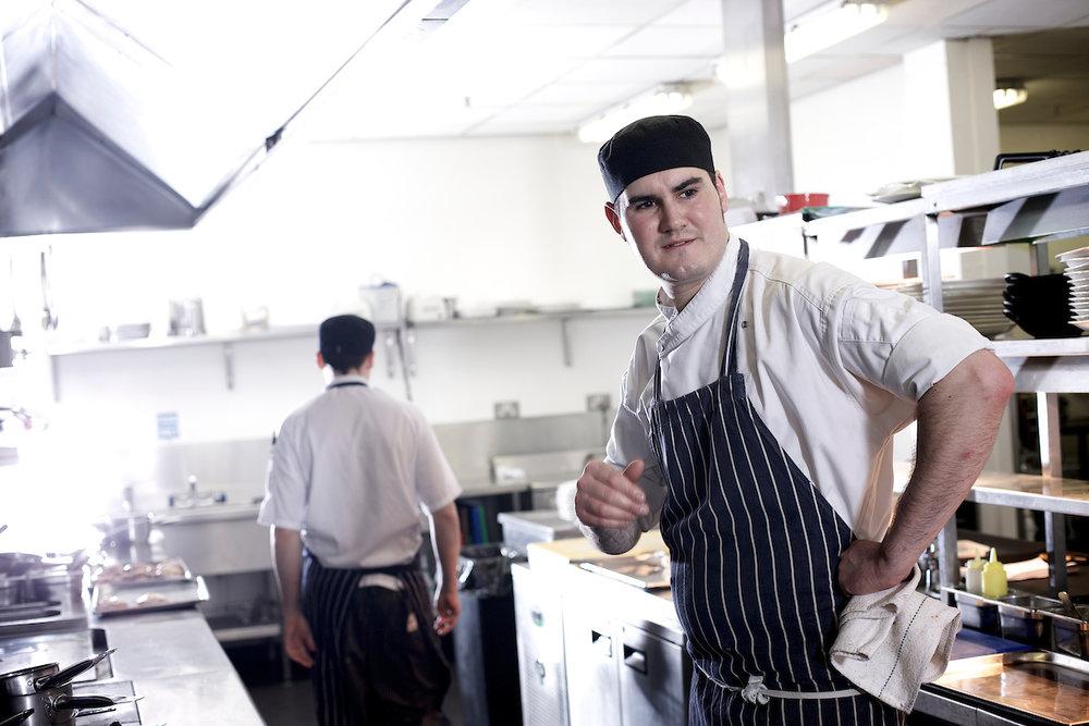 Chef at Opus Restaurant