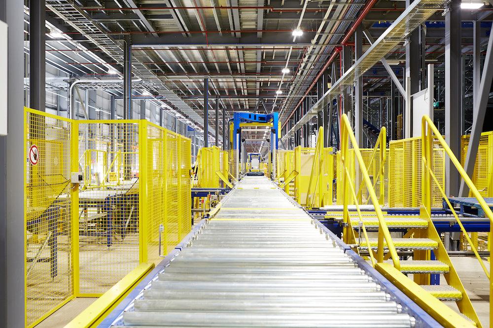 Automated Distribution Warehouse