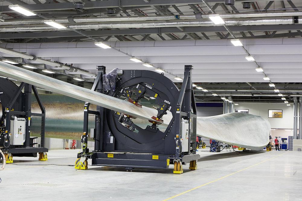 Volker Fitzpatrick - Siemens Blade Factory Hull