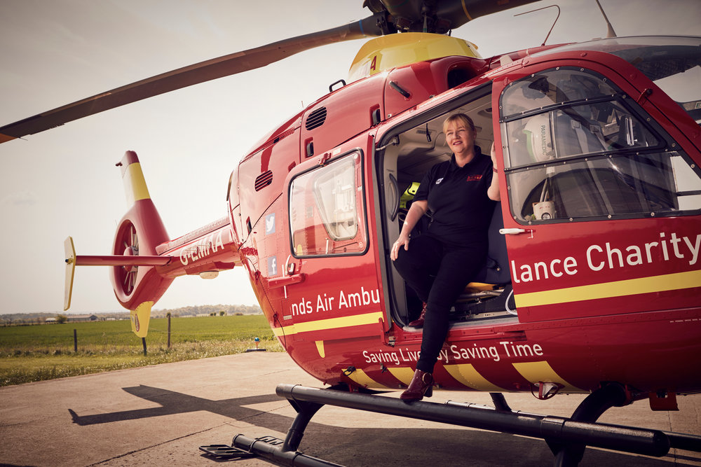 Jo Bailey - Air Ambulance