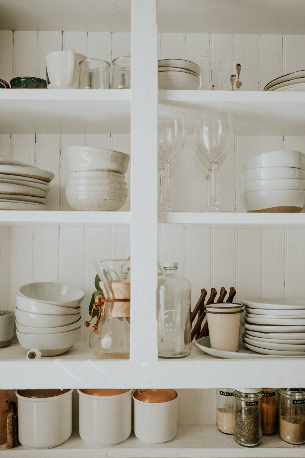 Dishware:  Crate and Barrel
