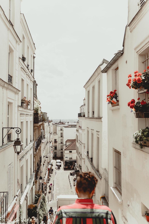 Strolling through Montmartre