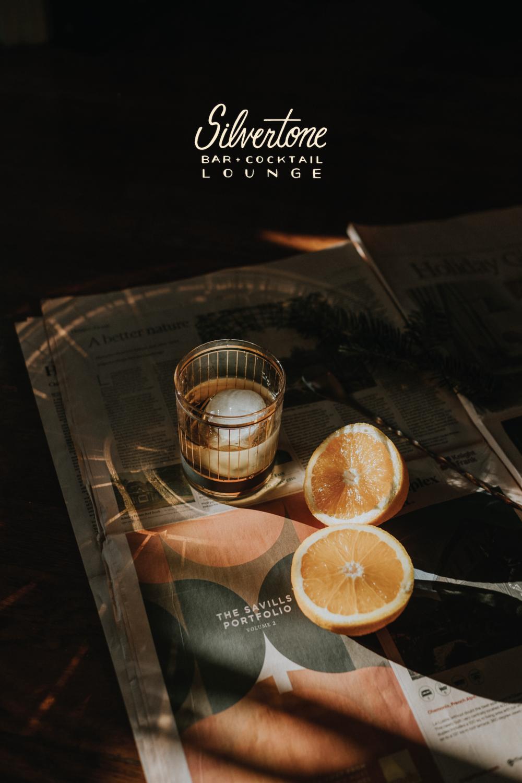 silvertone branding by chez nunez