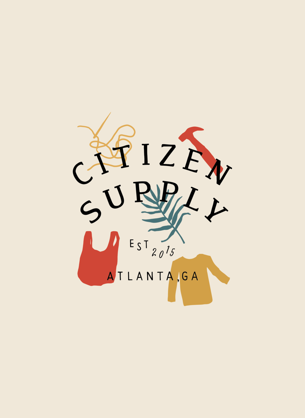 Citizen Supply | T-Shirt Design