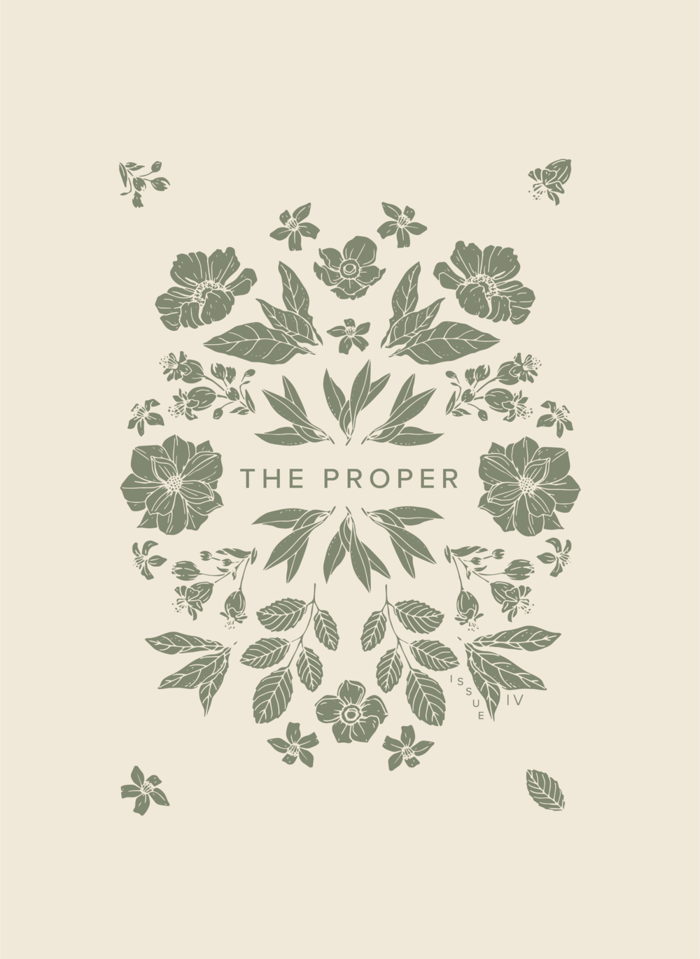 The Proper Newspaper | Issue IV Cover Design