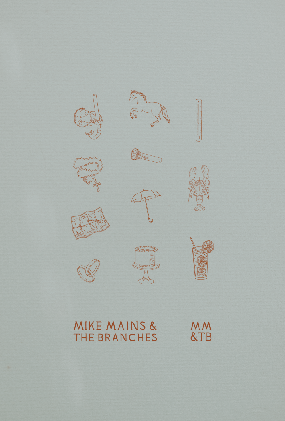 Mike Mains & The Branches | Album Illustrations and Logo Design