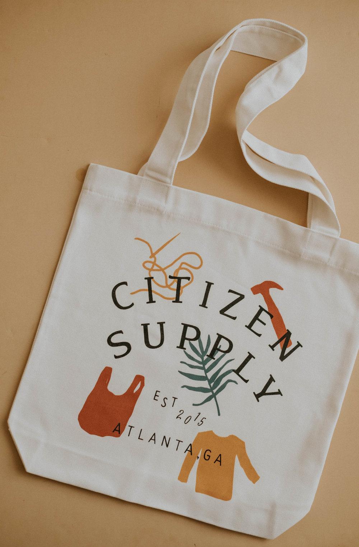 Citizen Supply | Canvas Tote Design