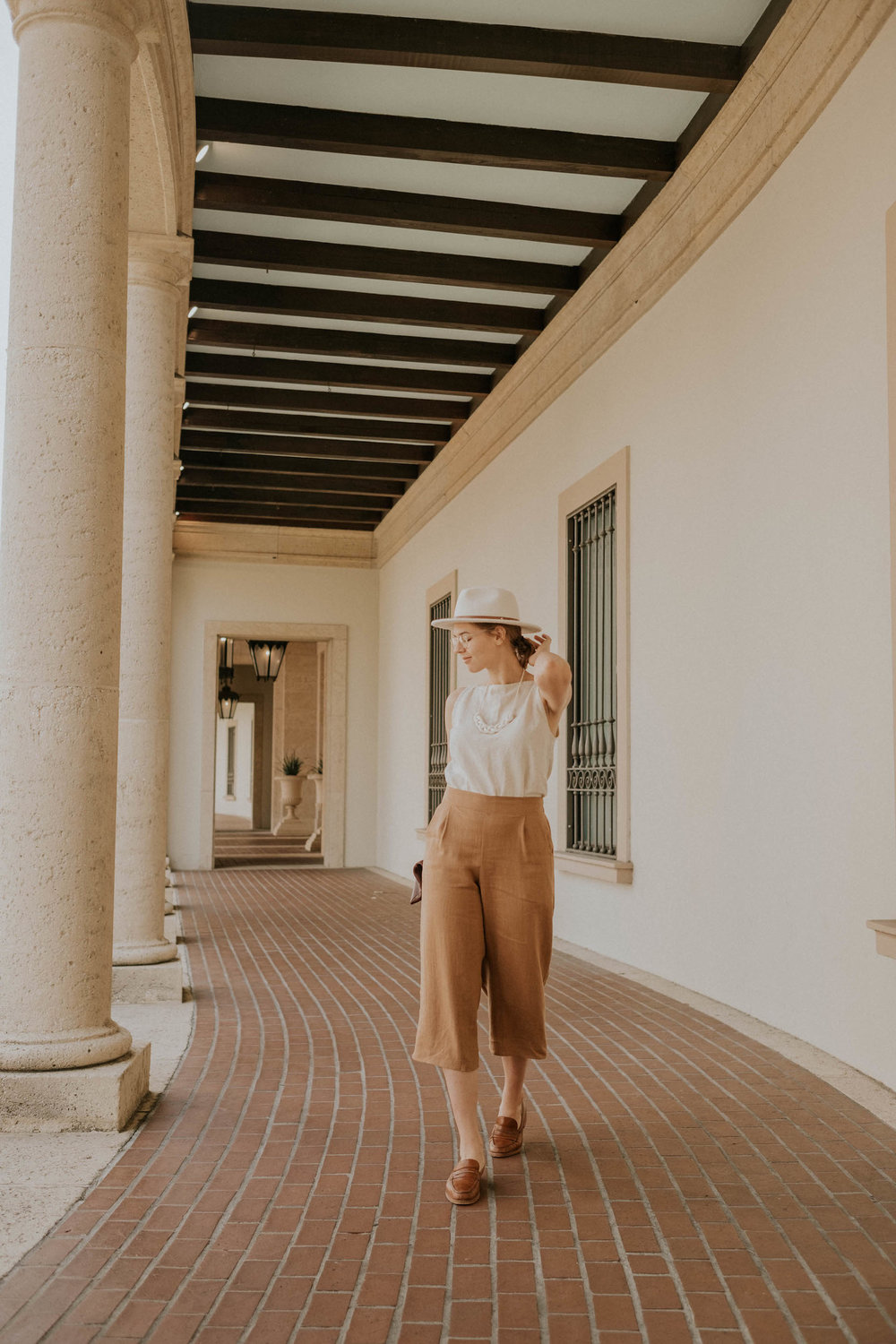 Featured:  Valentina Pant (Tan)  - I loooove the fit of these pants! Super cozy and easy to dress up or down! I've hardly taken them off since they arrived.