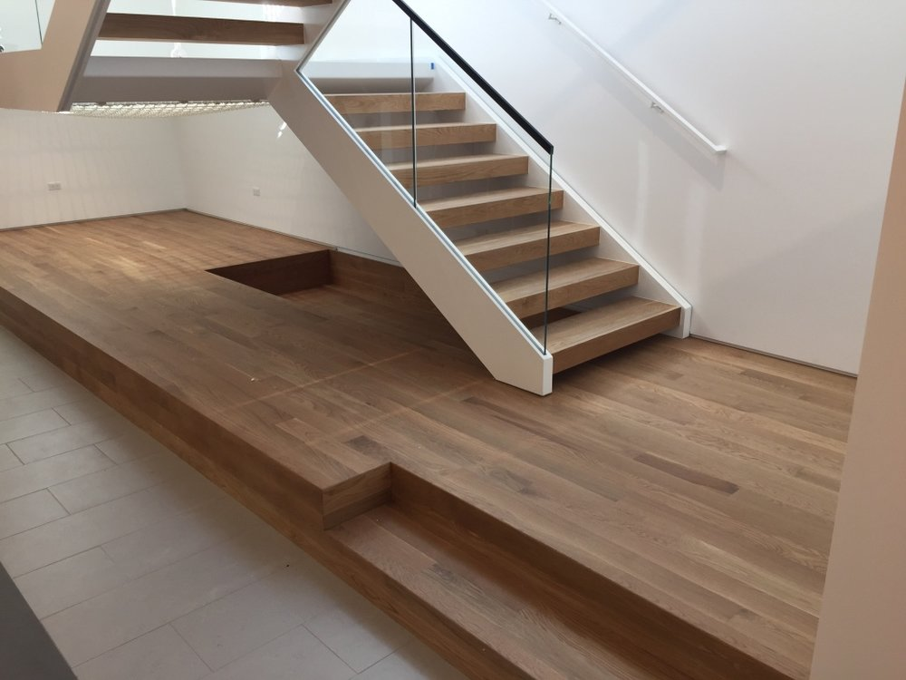 5280 Floors Custom Wood Stairs Installation and Refinishing Colorado