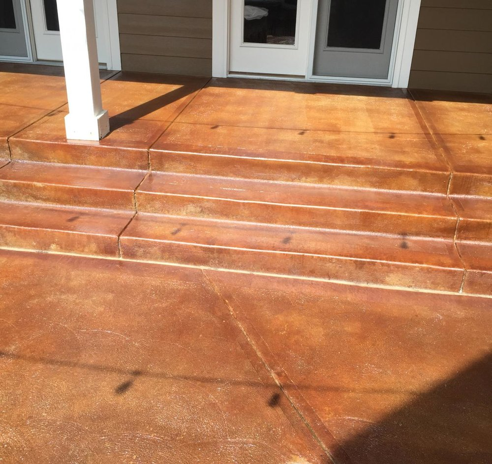 Restained & Resealed Outdoor Walkway