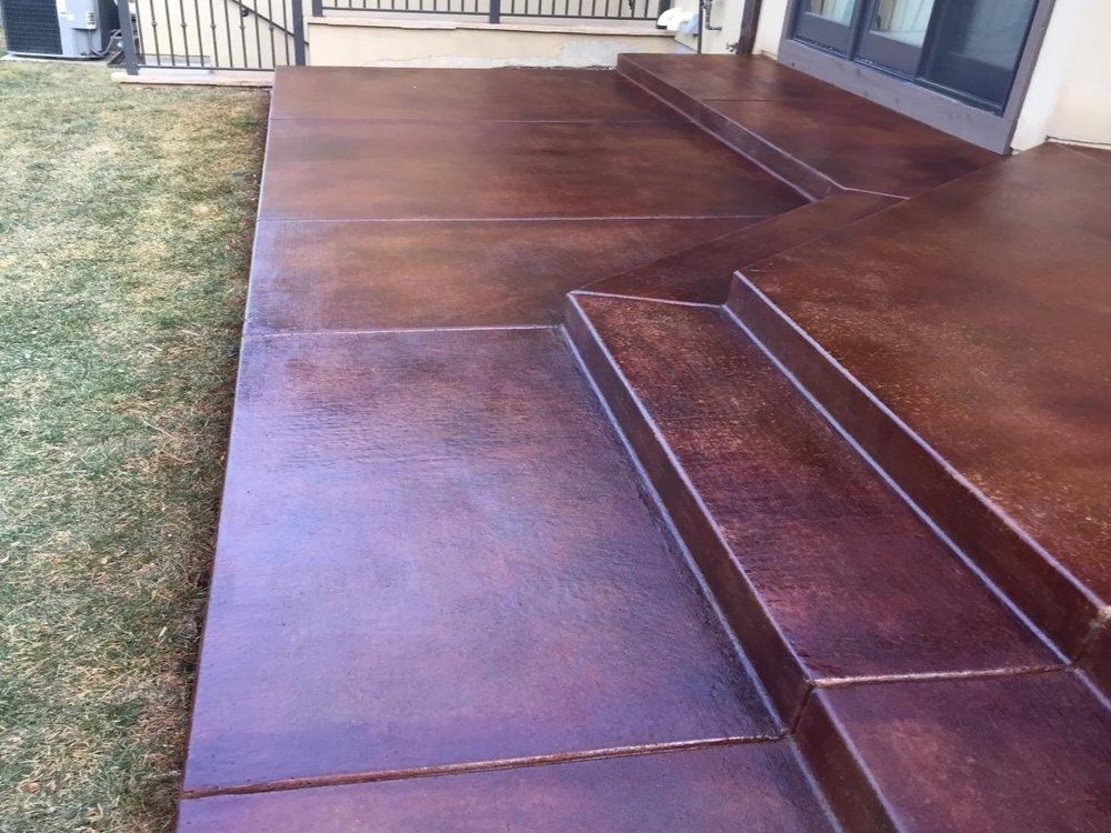 Patio Re-Dye & Re-Seal.