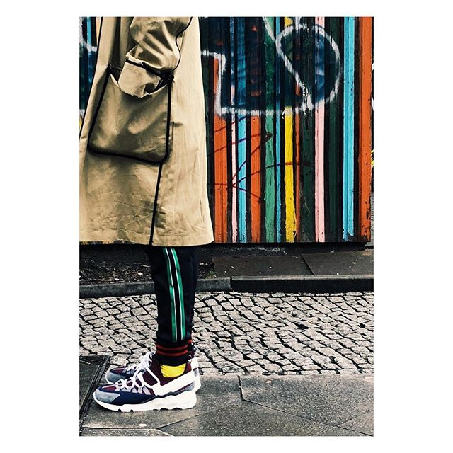 It's a match... #stripes #colours #match #shooting #berlin #berlinstreets #onlocation #work #sneakers #sweatpants