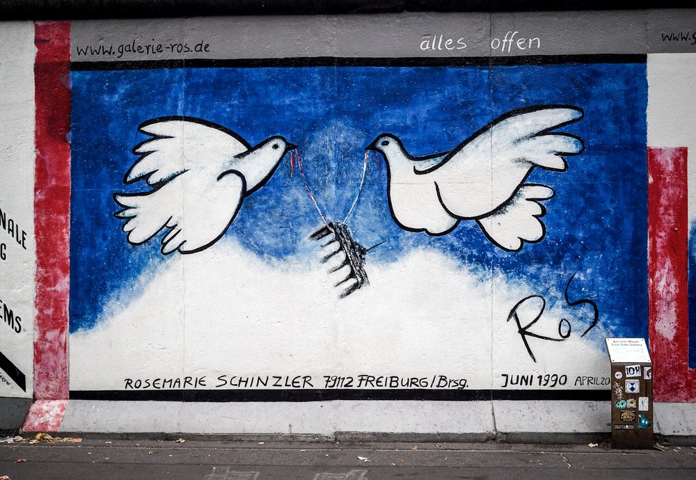 One of my favourite paintings at the East Side Gallery.