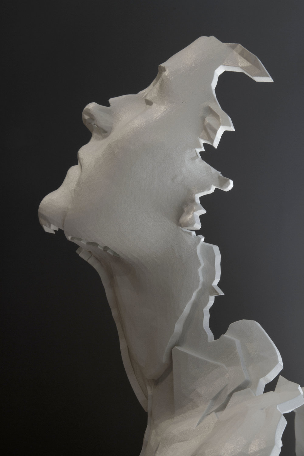 Bust of a Woman with Head Thrown Back (detail)