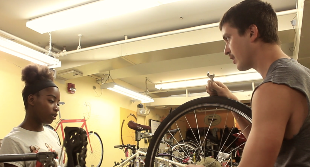 """Watch a video about the Everybody Bikes Program - """"You have the freedom to rely on your own transportation. It was like they put wings on my bicycle."""""""