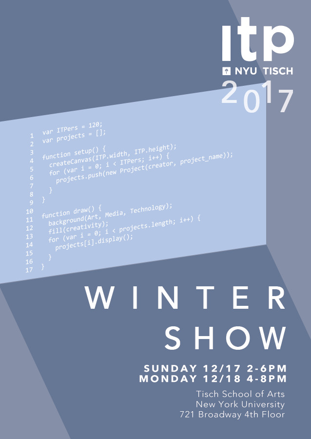 ITP Winter Show, 2017