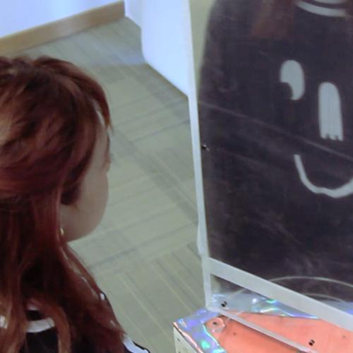 Shy Mirror   Interactive Installation