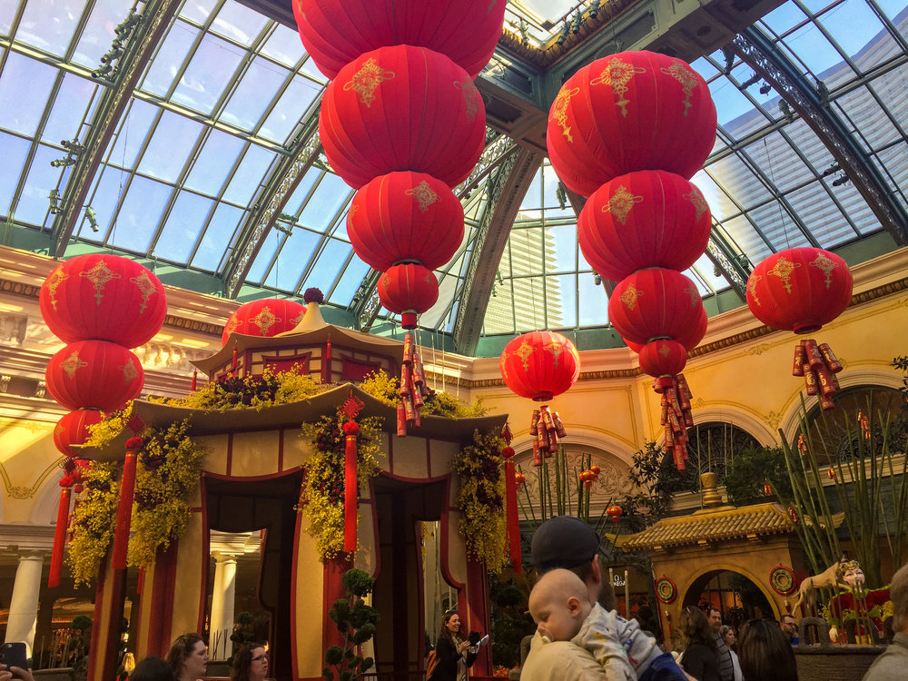 Year of the Dog  at Bellagio Hotel