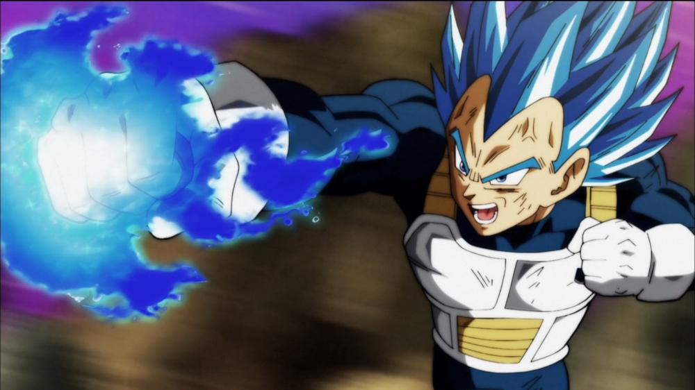 Episode 126: Surpass Even a God! Vegeta's Desperate Blow!!