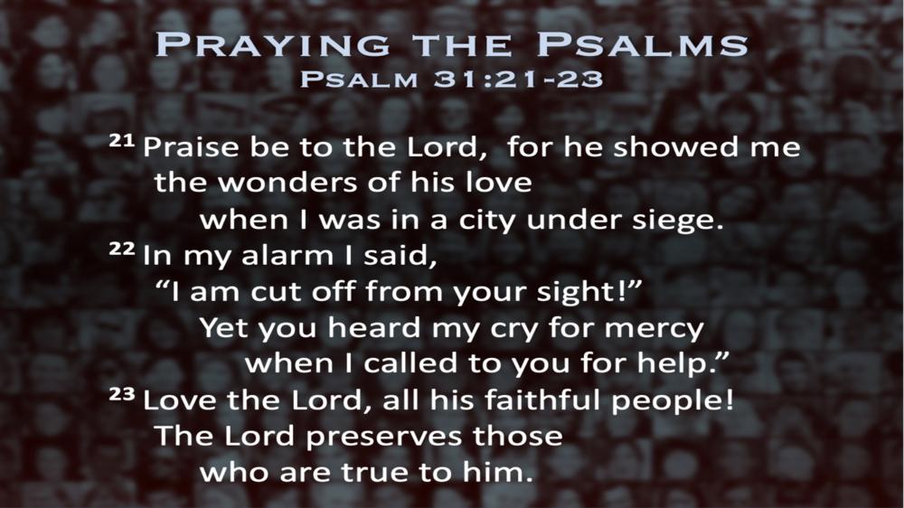 Psalm 31 (Scripture)