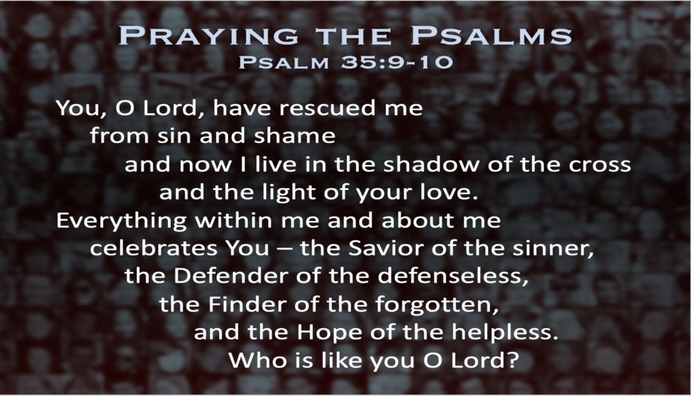 Psalm 35 (Prayer)