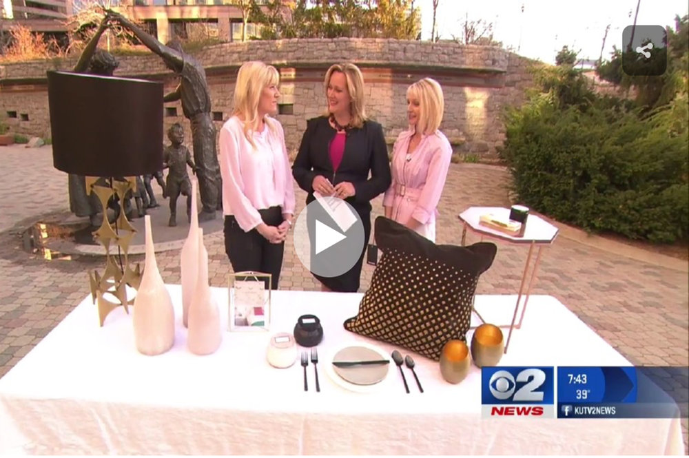 KUTV 2 News w/      K. Rocke Design - April 2, 2016
