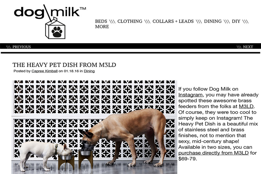 Dog Milk - January 8, 2016