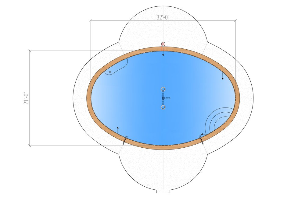 Oval Pool Design