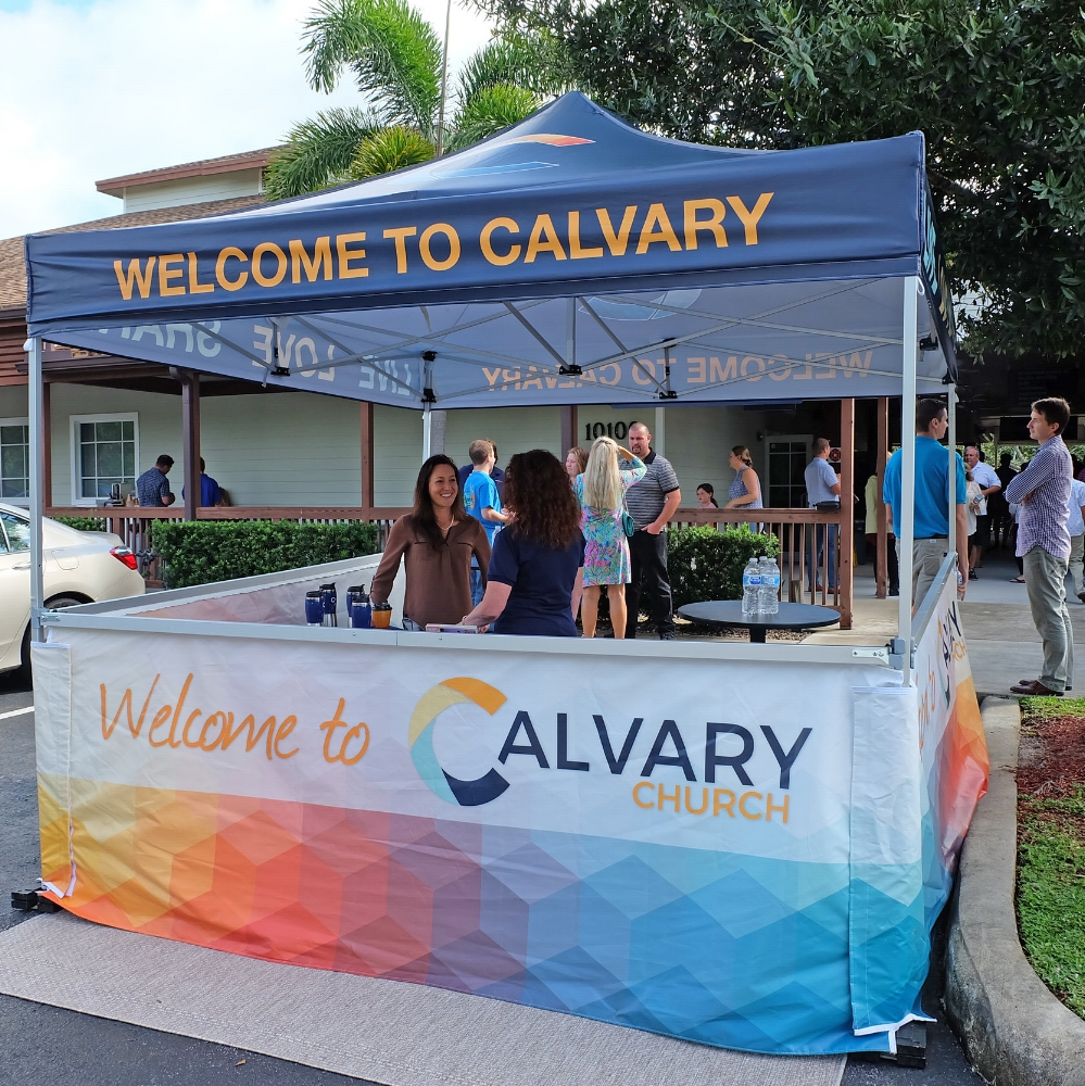 We're Glad You're Here! - Welcome to Calvary Church! We are so glad you found us online and we look forward to seeing you this Sunday! We know that finding a new church isn't easy, but the first thing you'll notice when you step foot on Calvary's campus is our warm and welcoming approach to every guest. With our casual atmosphere and complimentary coffee, donuts and pastries in our cafe, you're sure to enjoy your visit to Calvary.
