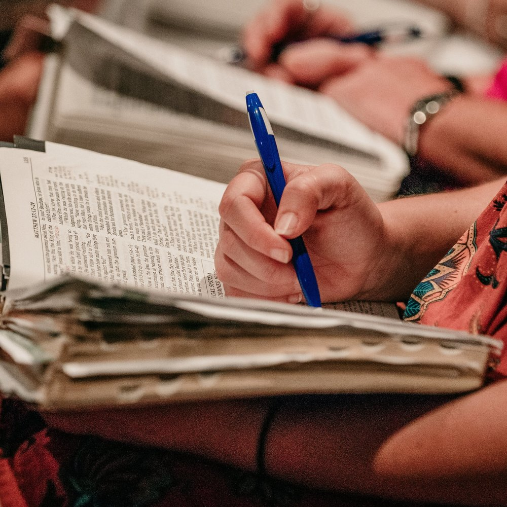 We Love The Bible! - When you come to Calvary, you can expect a Bible study. We teach the Bible chapter-by-chapter, verse-by-verse every week. We believe Jesus when he said,