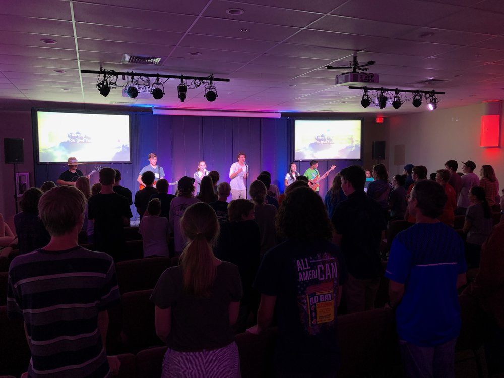 Student Ministry - Worship, Fun, Games, & Small GroupsWednesdays 6:30pm for MS & HS Students