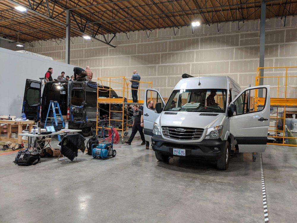 Crew & Cargo vans