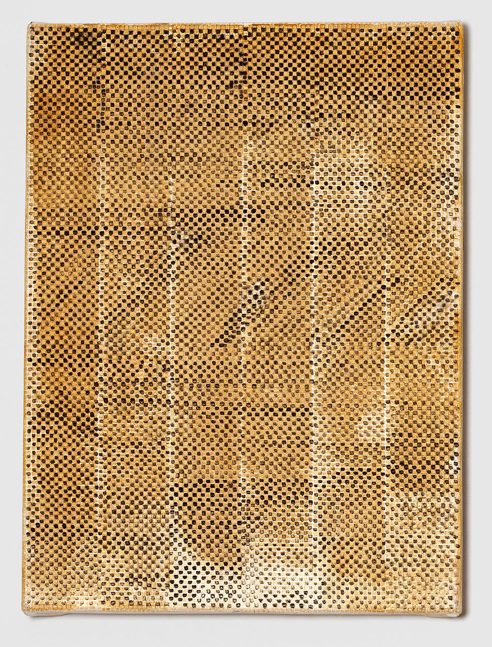 Adia Wahid   Golden Haze , 2015  Oil on Canvas  38cm x 28cm