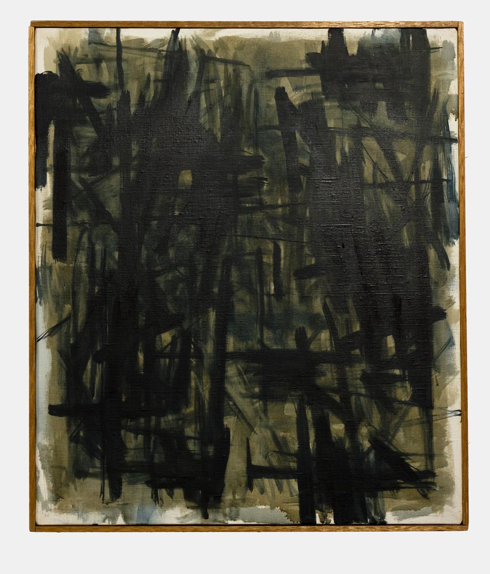Kazuyo Kinoshita   87-CA385 , 1987  53cm x 45.5cm  oil on canvas