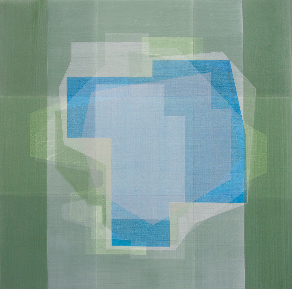 Andre Stitt  Come Tomorrow , 2016  Acrylic on Wood Panel  120 x 120 cm