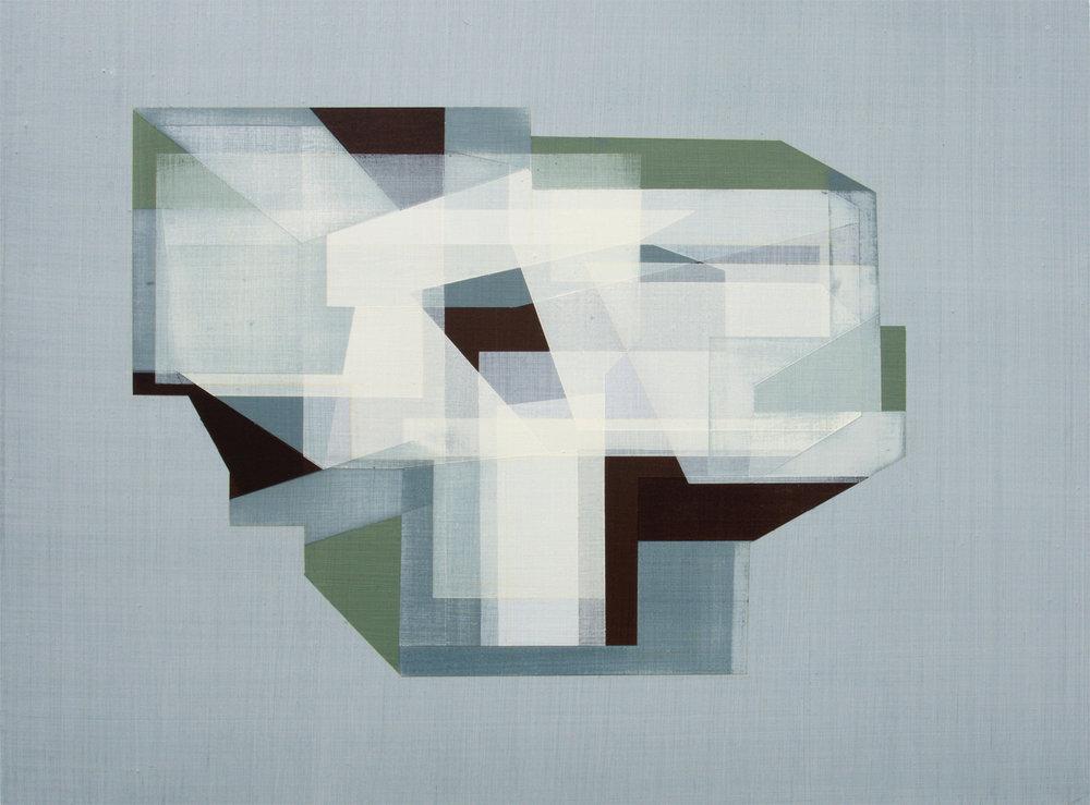 Andre Stitt  State of Siege , 2017 Acrylic on Wood Panel 41 x 61 cm
