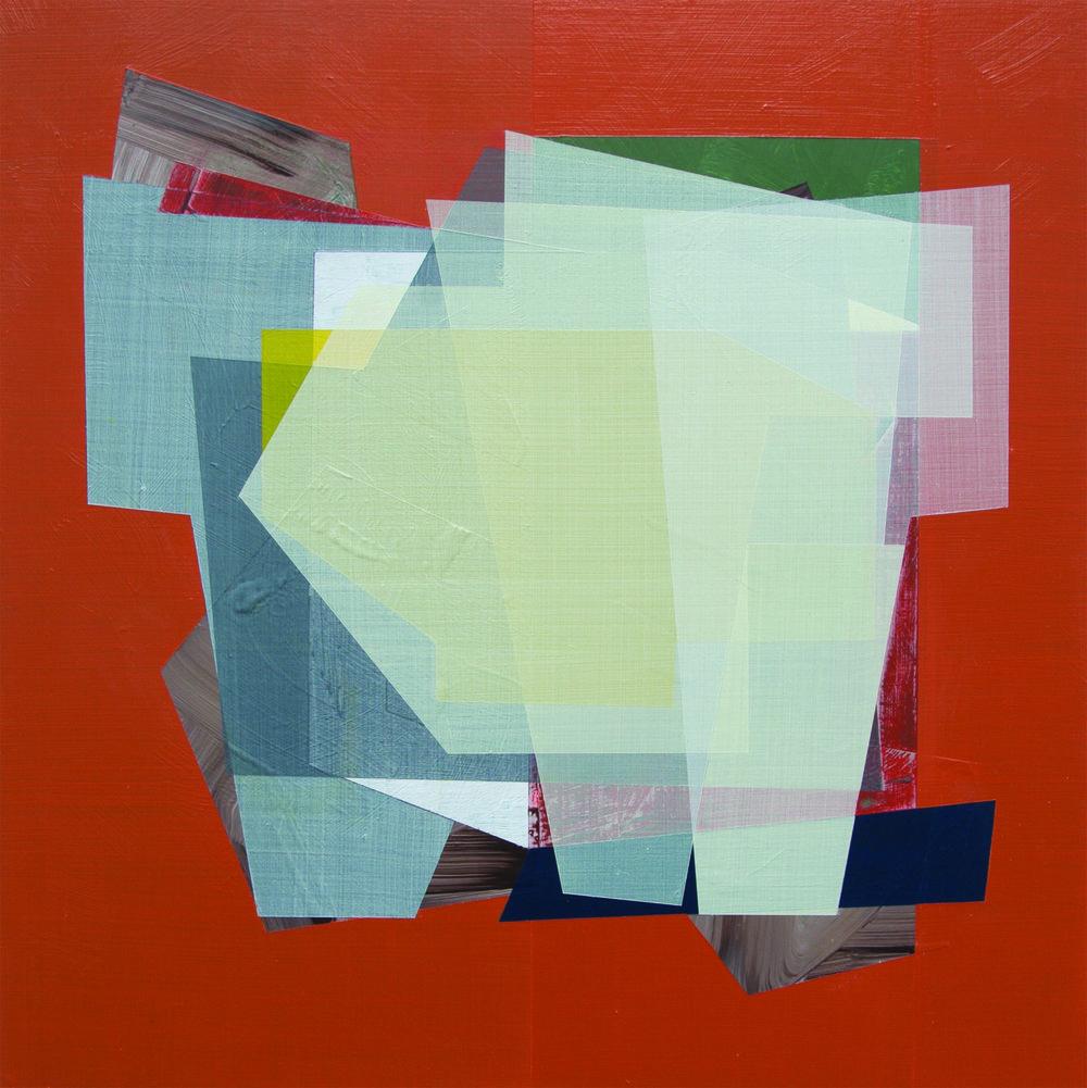 Andre Stitt  If You Where Still Around , 2016 Acrylic on Wood Panel 31 x 31 cm