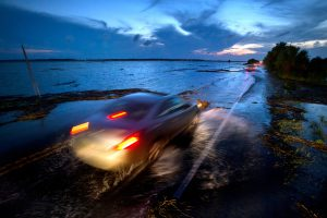 Highway 80 to Tybee Island, Ga., in June. Photo Credit: Stephen B. Morton for The  New York Times