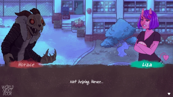 We got the dialogue from Alex and in game art from Justin implemented alongside Lord Gris's character art!