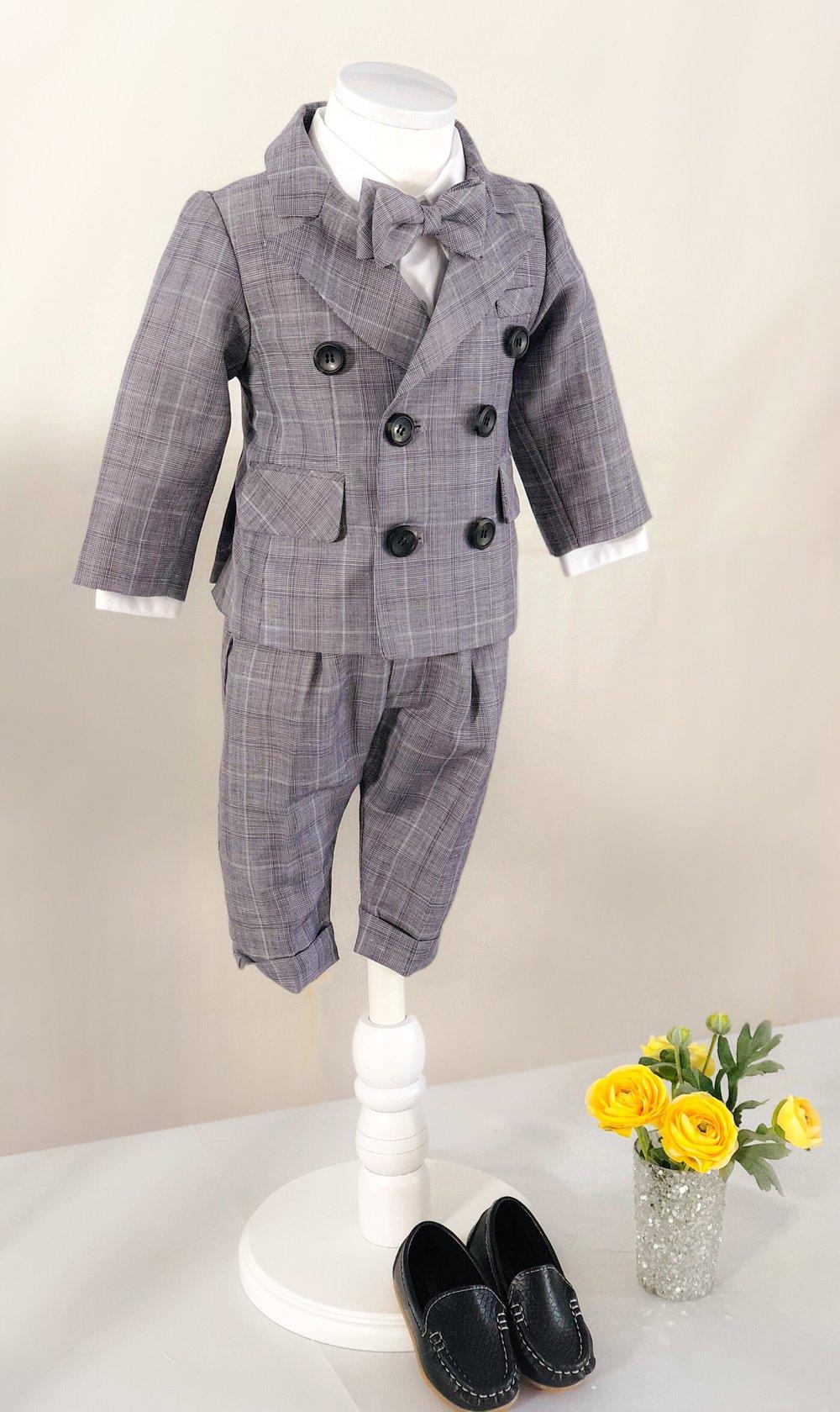 체크 수트 (Checked Suit)