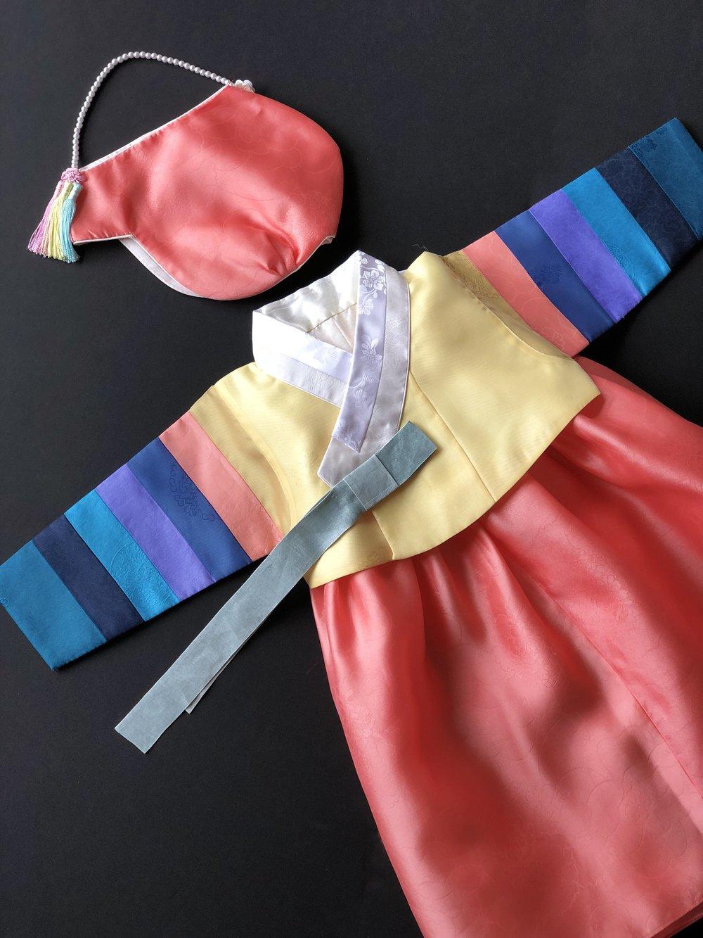 목화 핑크 색동(Mokhwa Pink Stripes)