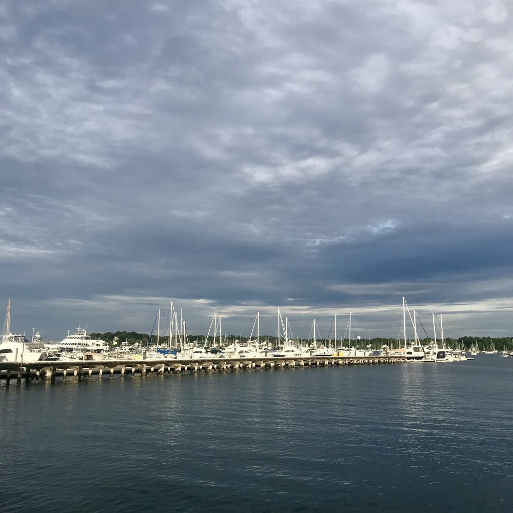 Beautiful Salem harbor.