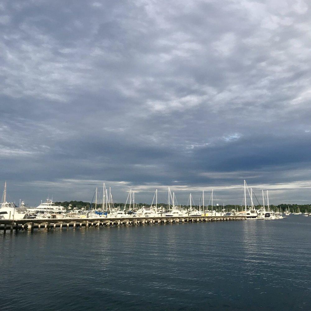 Beautiful Salem harbor.