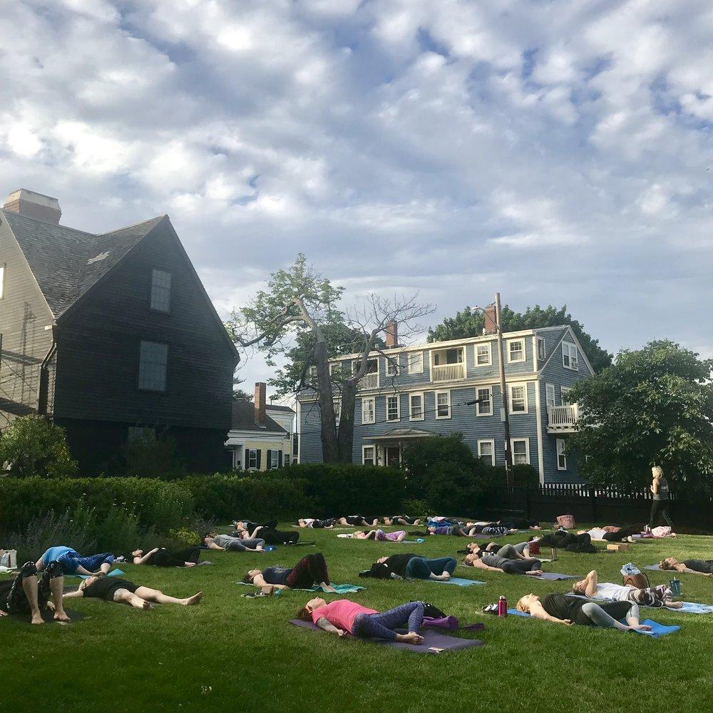 The best yoga studio in town.