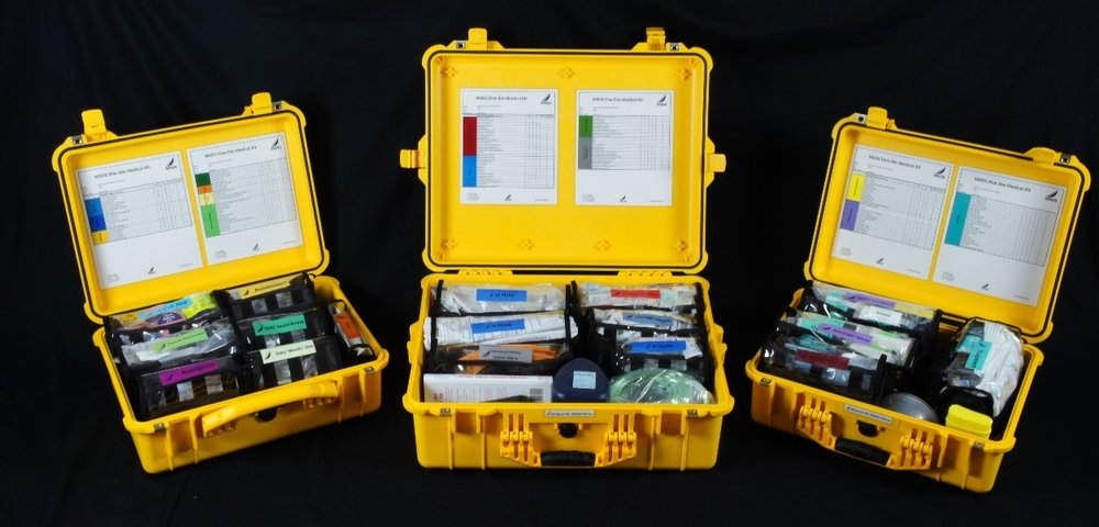 Dive Site Medical Kit  Medical/Trauma/Resuscitation Bags