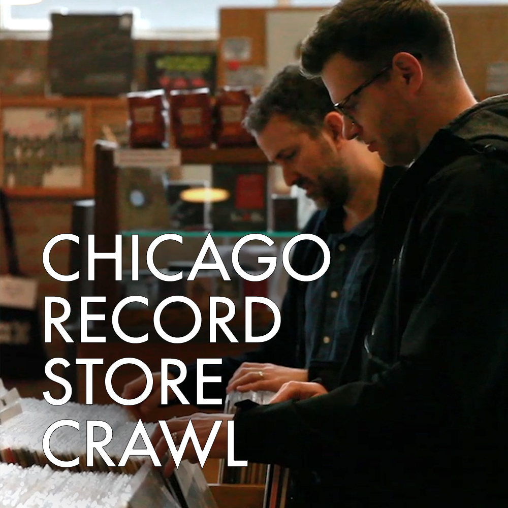 VIDEO | Chicago Record Store Crawl - We visit 7 of Chicago's Finest