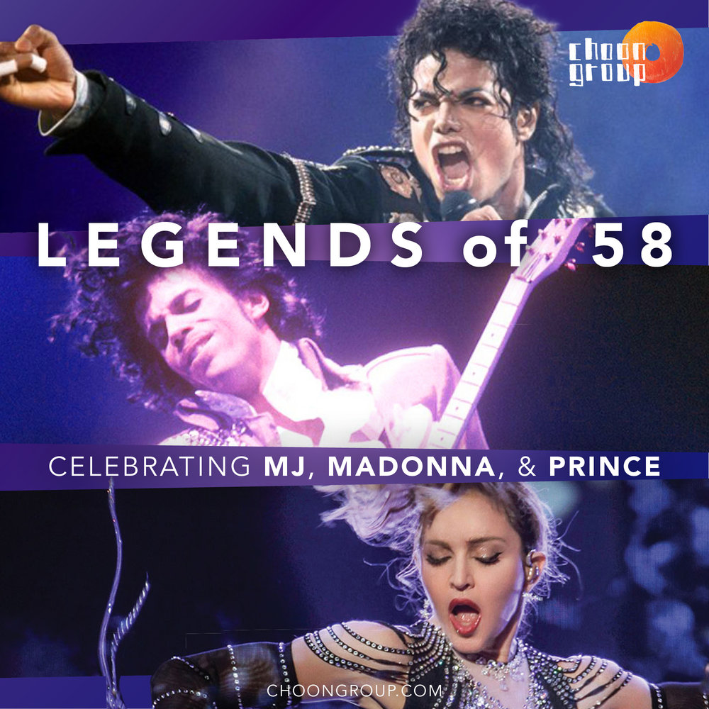 LEGENDS OF '58 - Crowning the best of MJ, Prince, and madonna